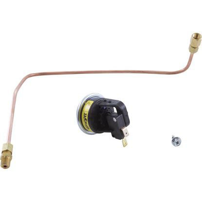 Picture of Pressure Switch, Zodiac Laars Hi-E2, With Siphon Loop R0322900