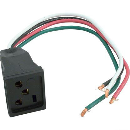Picture of Pump Receptacle, J & J Electronics, 230v Female Rsp-104p-2