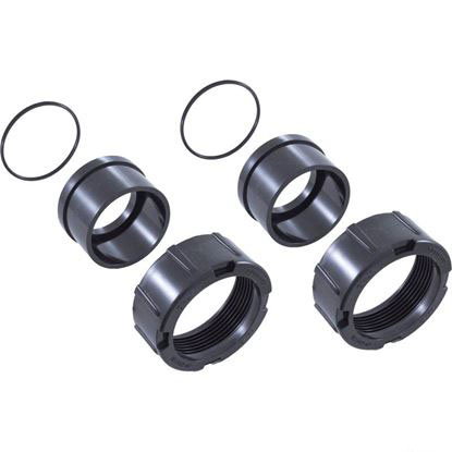 """Picture of 2""""x2"""" Tailpiece O-Ring Union Nut Kit R0327301"""