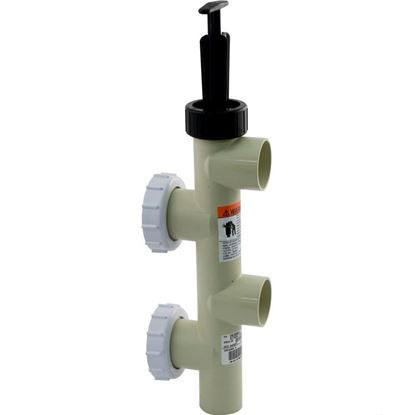 "Picture of Push Pull Valve, Pentair PacFab, 2"" Slip, PVC 263064"