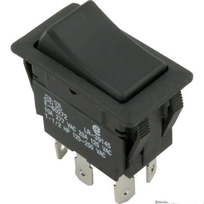 Picture of Rocker Switch, DPDT, 230v  60-555-1605