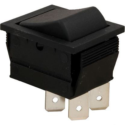 Picture of Rocker Switch, DPST, 230v  60-555-1600