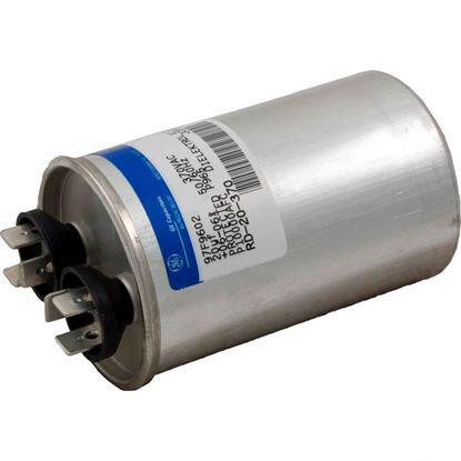 "Picture of Run Capacitor, 20 MFD, 370v, 1-3/4"" x 2-7/8"""