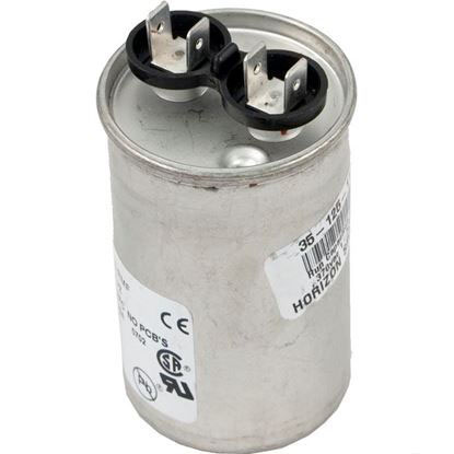"Picture of Run Capacitor, 30 MFD, 370v, 1-3/4"" x 2-3/8"""