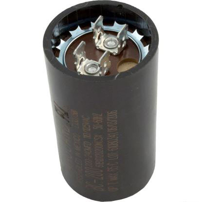 "Picture of Start Capacitor, 200-240 MFD, 115v, 1-7/16"" x 2-3/4"""