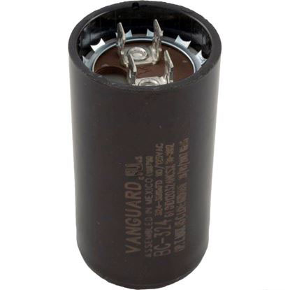 "Picture of Start Capacitor, 324-388 MFD, 115v, 1-7/16"" x 2-3/4"""
