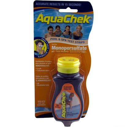 Picture of Test Strips, Aquachek Orange, 3-In-1, Monopersulfate, 50 Ct 561682a
