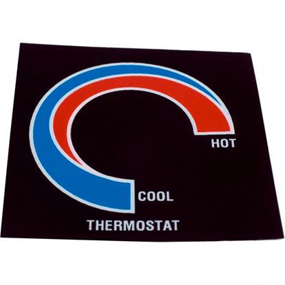 Picture of Thermostat Label Therm Products 48-02440