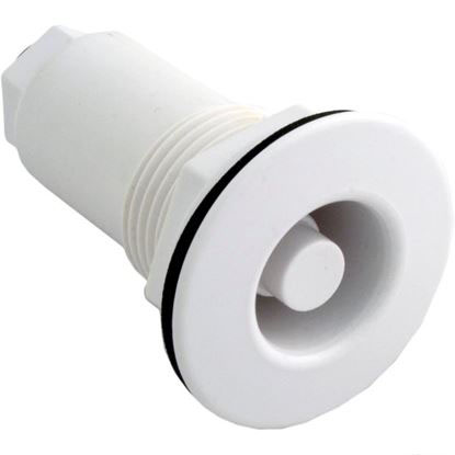 Picture of Thru-Wall Drywell Fitting, Len Gordon, White 990451-000