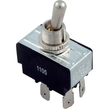 Picture of Toggle Switch, DPST, 230v  60-555-1510