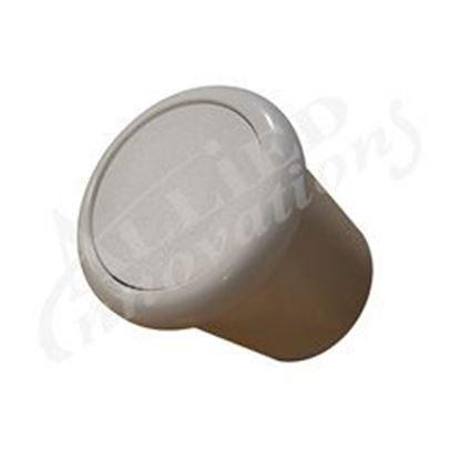 Picture of Air Button: Flush White-B318wa 6969 B318wa  6969