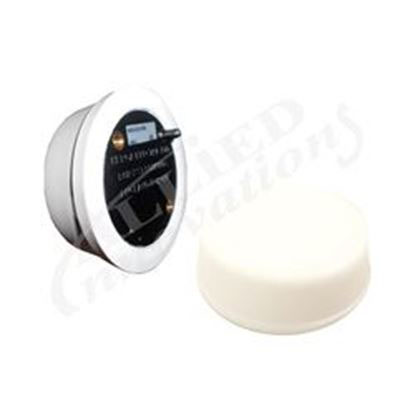 Picture of 6439-Czzz Air Button: Mushroom Flush Mount White-6439-Czzz