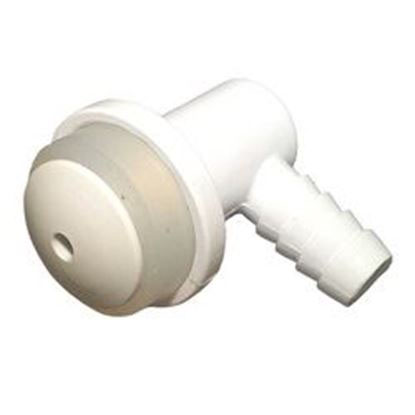 Picture of 23036-000 Air Injector: 3/8' Barb Vertical Body White-23036-000