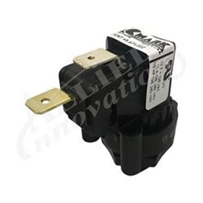 Picture of Air Switch: 10amp Spno Latching Center Spout- TBS305A