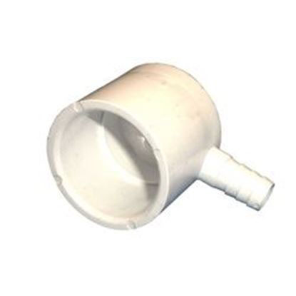 Picture of Barb Adapter: 1' Slip X 3/8' Rib Barb Ell 90 Special Fitting- 425-4040