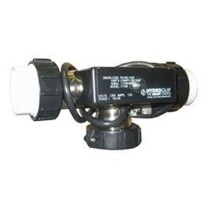 Picture of Ph100-15up    Ct100-Blp-Et Bath Heater: 1.5kw 115v T-Style 7' With 3' Nema Plug - Pressure-Ph100-15up  Ct100-Blp-Et