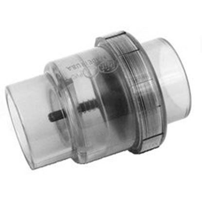Picture of Check Valve: Air 1-1/2' Slip X 2' Slip X Spigot- 600-8160