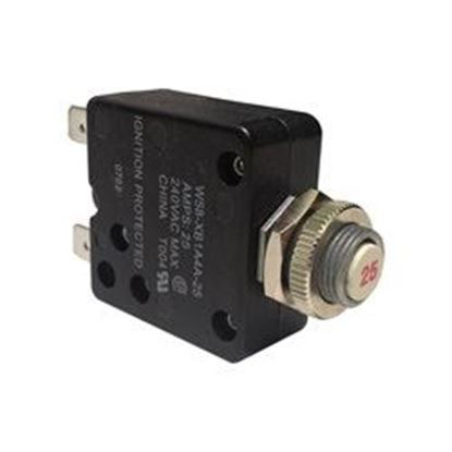 Picture of W5b-Xb1a4a-25 Circuit Breaker: 25amp 240v Therm-W5b-Xb1a4a-25