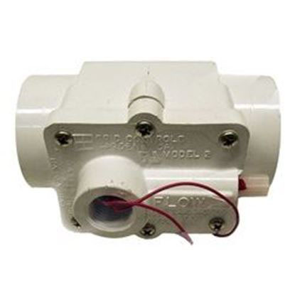 Picture of Flow Switch: 1-1/2' Pvc Slip Connection 1amp Grid Model 2- 57-F1-2000-WHT