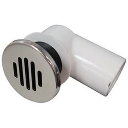 Picture of 640-0401s Gravity Drain Assembly: 3/4' Socket Low Profile With Stainless Steel Cover-640-0401s
