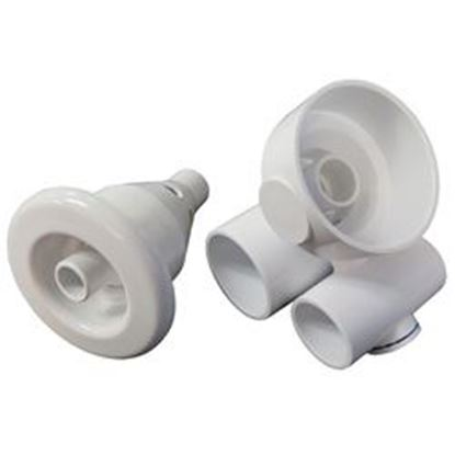 Picture of Jet Assembly: 1' Slip Air X 1-1/2' Slip Water Converta'Ssage- 10-4553WHT