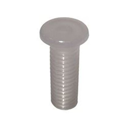 Picture of Led Light Part: .600 Bullet Lens Flange Frosted Polycarb Uv- 400372-W-Frst