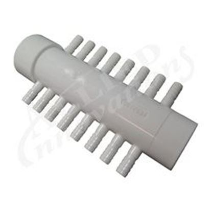 Picture of 100797 Manifold: 16 Port 1-1/2' Slip X Spigot X 3/8' Barb Coleman Spas-100797