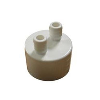 Picture of 2pam1sk Manifold: 2-Port 1' Slip X (2) 3/8' Ribbed Barb-2pam1sk