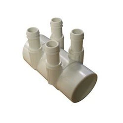 Picture of 53016300 Manifold: 4-Port 2' Slip X 2' Spigot X 3/4' Barb -53016300
