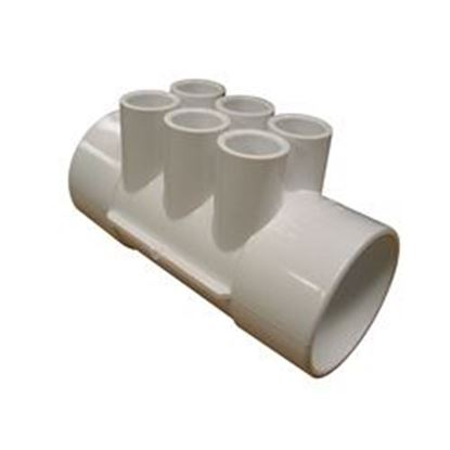Picture of 672-4110 Manifold: 6-Port 2' Slip X 2' Slip X (6) 1/2' Slip-672-4110