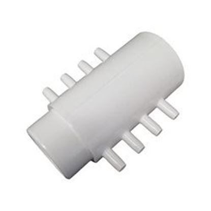 Picture of 672-2360 Manifold: 8-Port 1-1/2' Slip X 1-1/2' Spigot X 1/4' Barb-672-2360