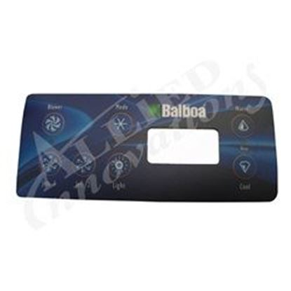 Picture of 10430 Overlay: Standard Digital Lcd 7 Button-10430