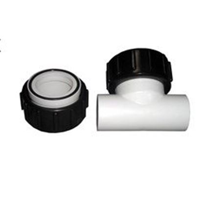 Picture of Pump Union Kit: 1-1/2' Tee And 1-1/2' Slip With Tailpiece- 2614011