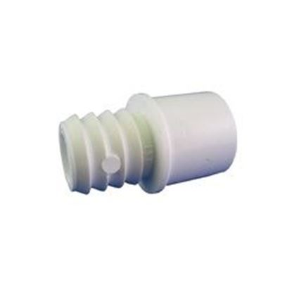 Picture of Pvc Adapter: 1/2' Slip Or 3/4' Spigot X 3/4' Ribbed Barb- 425-1030