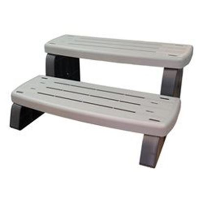 Picture of 535-2209-Csg Step Assembly: 33' Non-Slip 2 Step Coastal Gray-535-2209-Csg