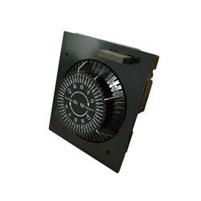 Picture of E1020-M20 Time Clock: 110v 20amp 60hz 24 Hour With Bypass Button-E1020-M20