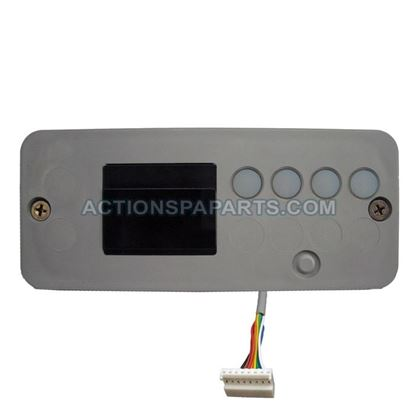 Picture of 34-0198ub Control Panel Hydroquip Eco-8 No Overlay