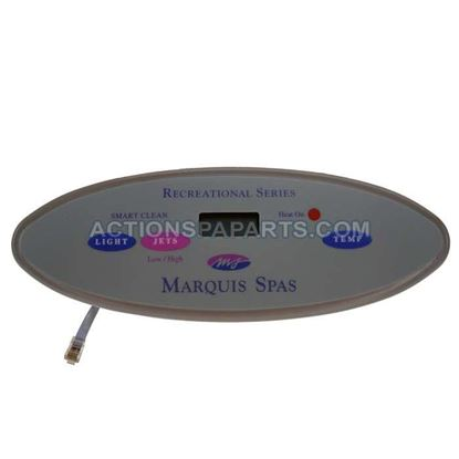 Picture of Marquis Topside Control Panel  Small Oval 97-06 3 Button 650-0635_650-0423