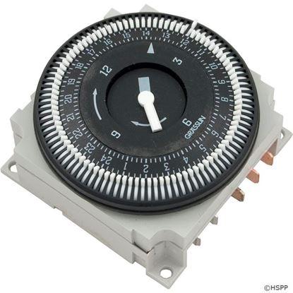 Picture of Time Clock: 220v Spdt 15amp 60hz 24 Hour 5 Lug-Fm-1/ Stuz-240