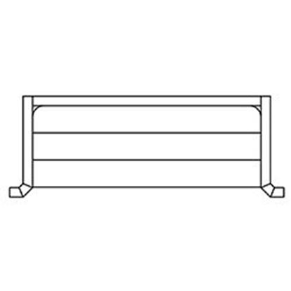 Picture of 10 FT STEEL CES STEPS W/90 DEG CNR AQSSTSCS10X90