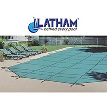 Picture of 16 FT X 32 FT LATHAM SOLID SAFETY COVER LATSOLID1632