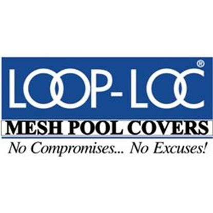 Picture of 16ft X 32ft On Ground Mesh Pool Cover Llscdog1632