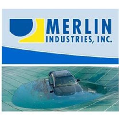 Picture of 20 X 40 Merlin Mesh W/4x8 Right Step MERSCD204048RS