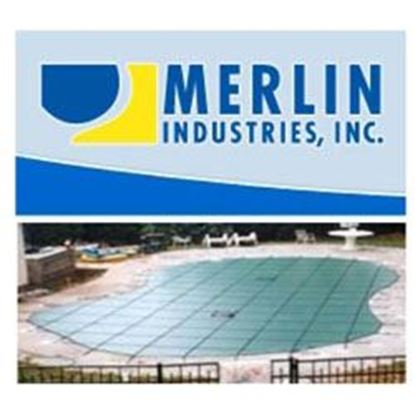 Picture of 20 X 40 Merlin Solid W/4x8 Step W/Pump Mersld204048wp