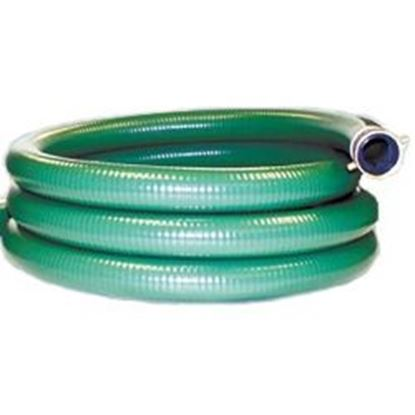 Picture of 3 IN. X 20 FT PVC SUCTION HOSE W/END RSH20