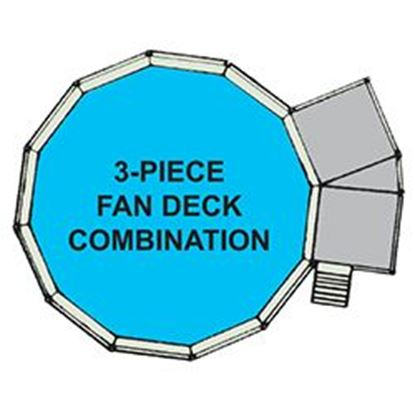 Picture of 3pc Fan Deck & Fence F/21 Ft X52 In. Swp3fd2152
