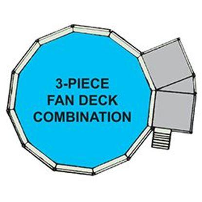 Picture of 3pc Fan Deck & Fence F/21 Ft X52 In. Swp3fd2152