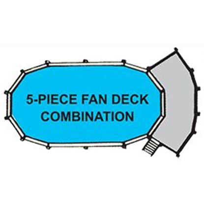 Picture of 5 Piece Fan Deck Only / 15 Ft Pool SWP5PC1552