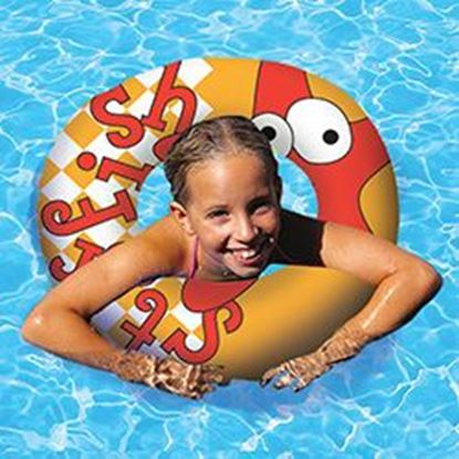 "Picture of AQUA FUN 24"" PRINT SWIM RING PM81261"