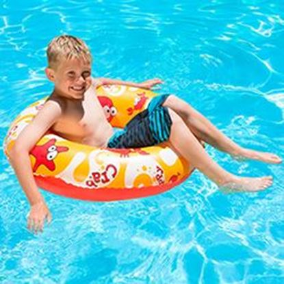 "Picture of AQUA FUN 30"" PRINT SWIM RING PM81263"